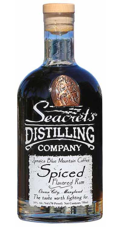 Seacrets Coffee Spiced Rum